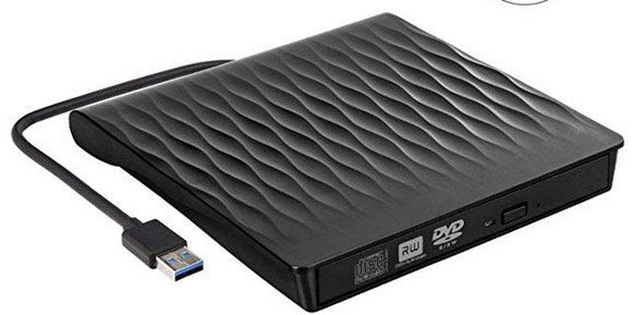 Externes DVD Laufwerk und Brenner mit USB 3.0 für 19,49€ (statt 27€)