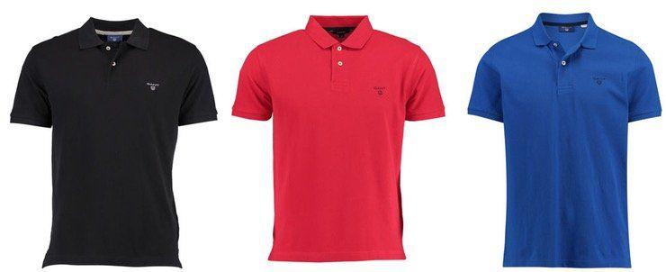 Gant Herren Poloshirt The Summer Pique viele Farben und Größen für 42,41€ (statt 50€)   bei 2 Stück je 39,91€