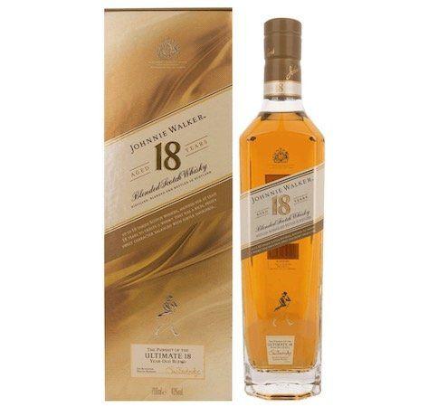Johnnie Walker 18YO Blended Scotch Whisky 0,7 Liter für 44€ (statt 52€)