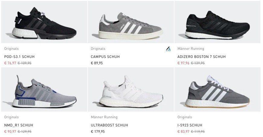 Nur heute: 20% Rabatt auf adidas Friends & Family Artikel + VSK frei ab 50€   TOP