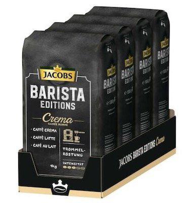 12kg Jakobs Barista Editions Kaffee Ganze Bohne für 77,88€ (statt 120€)