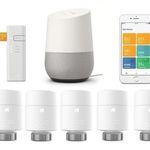 5er Pack tado smarte Heizkörper-Thermostate V3+ mit Bridge + Google Home für 358,95€ (statt 463€)