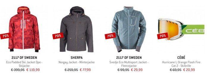 Bergfreunde: Großer Outdoor Sale mit bis zu 80% Rabatt   über 6.700 Artikel z.B. Hardshelljacke für 111,58€ (statt 140€)