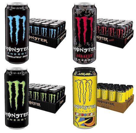 24er Pack Monster Energy je 500ml viele Sorten ab 19,42€ inkl. 6€ Pfand