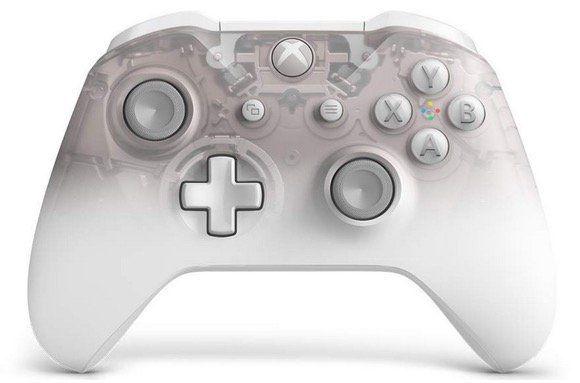 Xbox One Wireless Controller in der Phantom White Edition für 46,06€ (statt 59€)