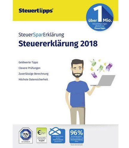 SteuerSparErklärung 2019 als Download für Windows (PC) für 18,99€ (statt 25€)