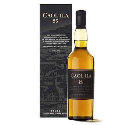 Caol Ila 25 Jahre Whisky für 100€ (statt 135€)