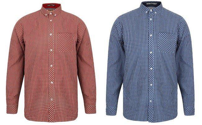 Tokyo Laundry Newick Herren Langarm Hemd für je 5,55€ + VSK (statt 20€)
