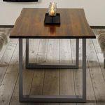 Tisch Mailo aus Akazienholz (160 x 85 cm) für 228,29€ (statt 399€)