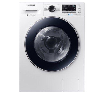 Bis 21 Uhr: Samsung WD80M4A33JW Waschtrockner mit 8kg/4,5kg für 518,02€ (statt 690€)