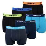 6er Pack O'Neill Herren Boxershort Uni Plain für 25,95€ (statt 36€)