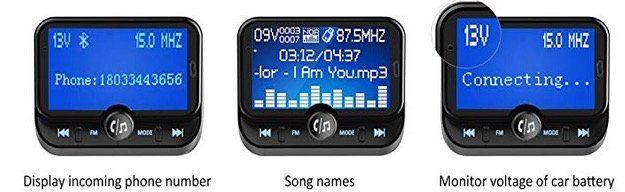 Ulycool Bluetooth FM Transmitter mit Freisprech & Speicherkarten Slot für 15,599€ (statt 26€)