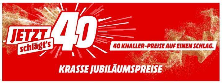 MediaMarkt: Jetzt schlägts 40 mit 40 Deals aus vielen Bereichen   eine Übersicht