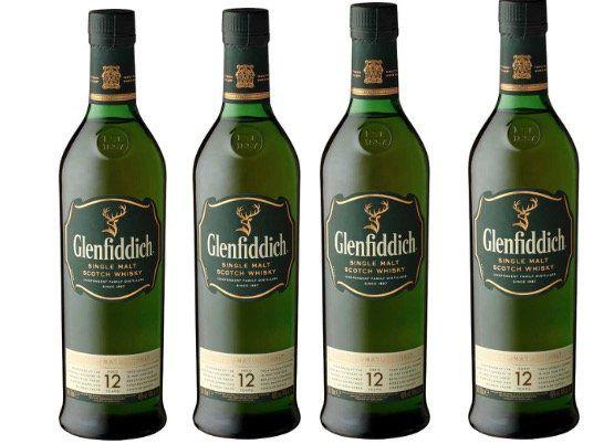 Glenfiddich Single Malt Scotch Whisky 12 Jahre für 22,99€ (statt 28€)