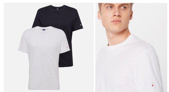 AboutYou: Doppelpack Champion Authentic Athletic Apparel Herren Shirts für 18,62€ (statt 35€)
