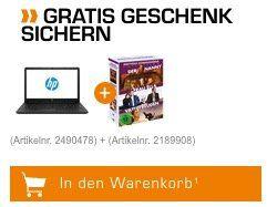 HP 15,6 Notebook mit i5, 8GB RAM 2TB HDD für 499€ (statt 669€)   dazu Schweighöfer DVDs geschenkt