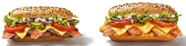 McDonalds: Hamburger Royal mit Käse für 1,99€ und 2 neue vegane Burger