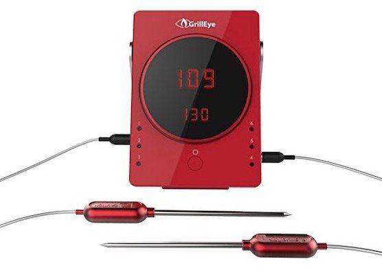 GrillEye Smart Bluetooth Grill Thermometer für 59,90€(statt 68€)