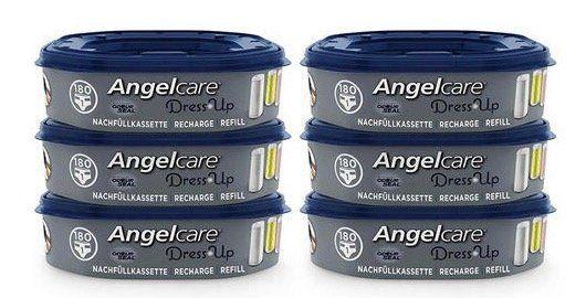 6er Pack Angelcare Dress Up Windeleimer Nachfüllkassetten für 25,94€ (statt 40€)