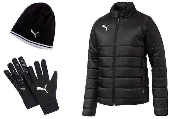 Puma Winterset 3 teilig (Jacke, Mütze, Handschuhe) für 69,91€ (statt 79€)
