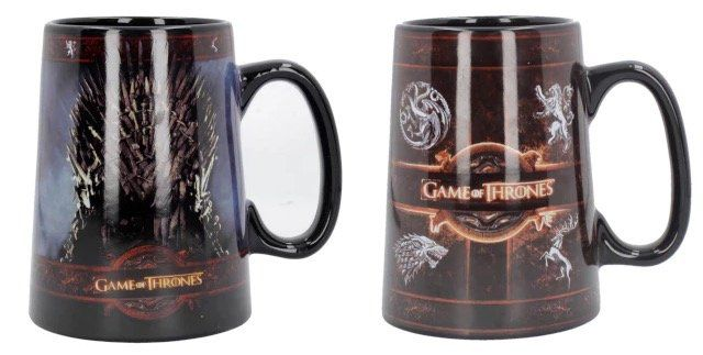 2er Pack Game of Thrones Keramik Krüge für 19,49€