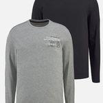 2er Pack Man's World Langarmshirt ab 11,69€ (statt 19€)