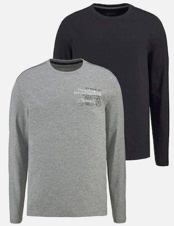 2er Pack Mans World Langarmshirt ab 11,69€ (statt 19€)