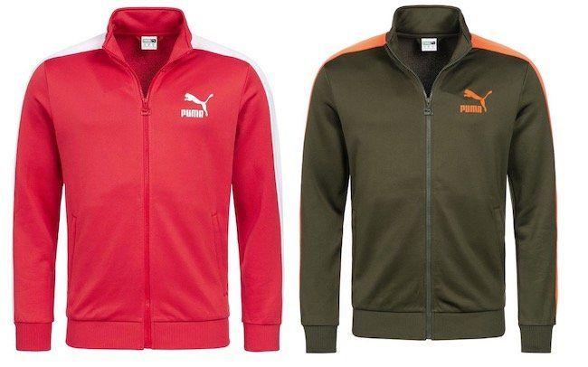 Puma Classics T7 Track Herren Trainingsjacke für 28,94€ (statt 50€)