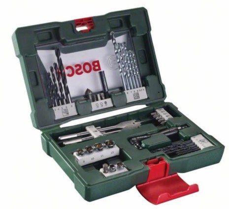 Bosch V Line Bohrer  und Bit Set mit Winkelschrauber 41 teilig für 14,78€