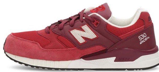 New Balance 530 Sneakers in Rot (41,5 bis 42,5) für 44,24€ (statt 80€)