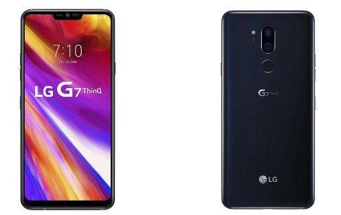LG G7 ThinQ Smartphone 6.1 64GB in Schwarz für 319,90€ (statt 353€)