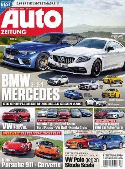 Auto Zeitung Jahresabo für 9,90€ (statt 80€)