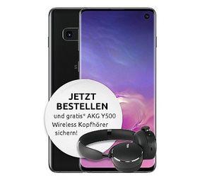 Vorbei! Samsung Galaxy S10 inkl. AKG Y500 für 5€ mit Vodafone Allnet Flat mit 7GB LTE für 36,99€ mtl.