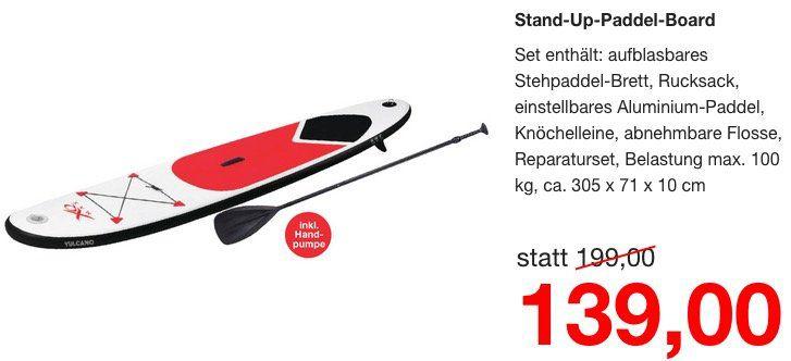 Stand up Paddel Board für 139€ (statt 200€)