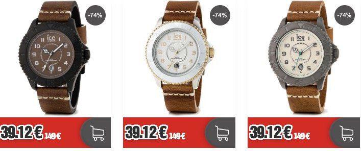 Ice Watch Heritage Big Uhr mit Lederarmband für 44,24€ (statt 74€)
