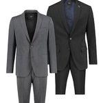 s.Oliver Herren Anzüge in Schwarz oder Anthrazit für je 88€ (statt 143€)
