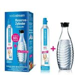 SodaStream Reserve-Zylinder 60 Liter + Glaskaraffe für 27,85€ (statt 33€)