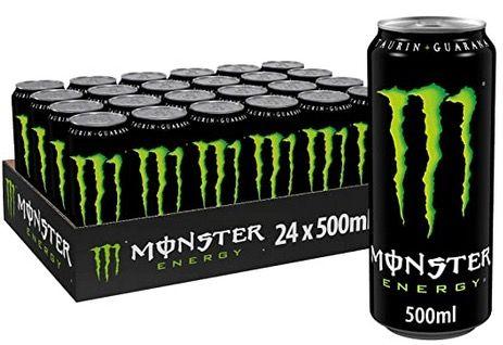 24er Pack Monster Energy je 500ml ab 18,36€ zzgl. 6€ Pfand   nur 0,76€ pro Dose