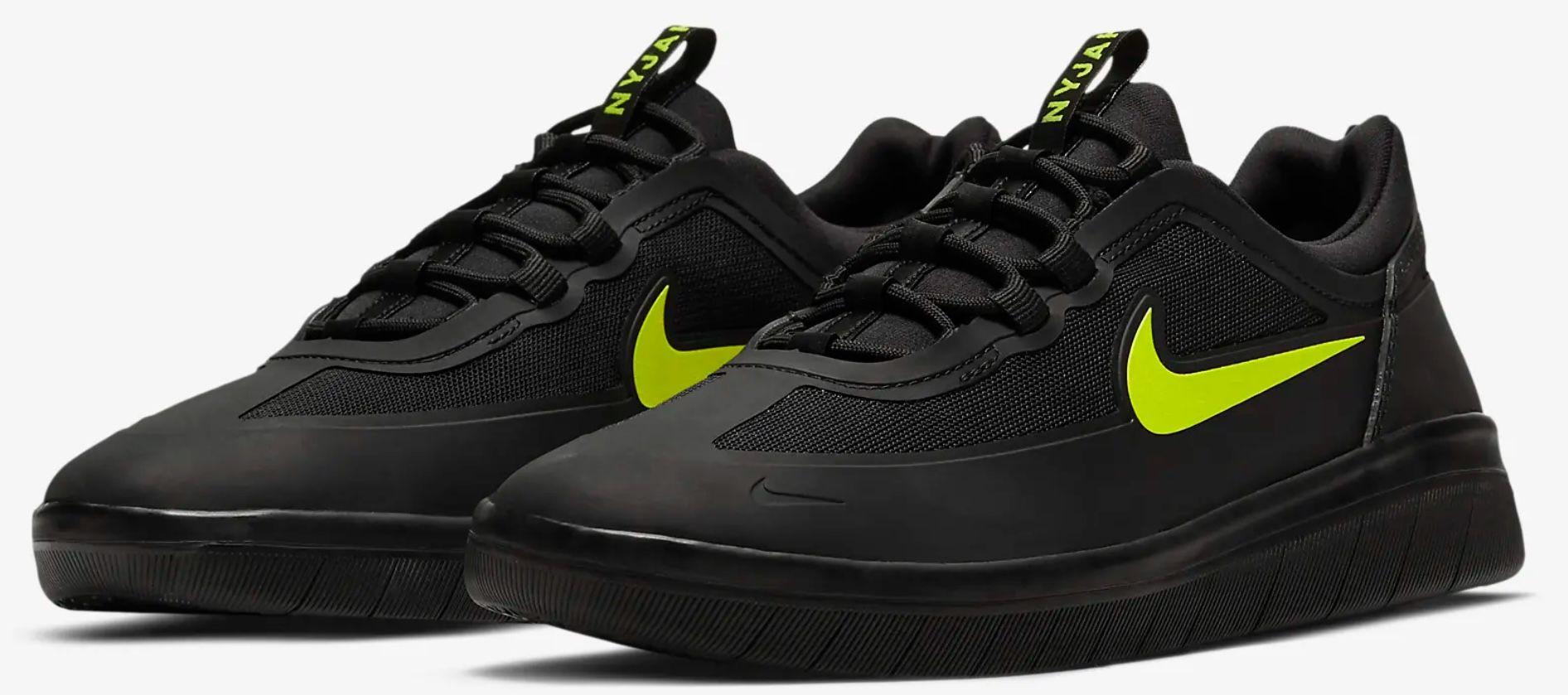 Nike SB Nyjah Free 2 Skateboardschuhe für 56,97€ (statt 95€)   nur 36 bis 42.5