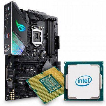 Intel Core i7 9700K TRAY + ASUS ROG STRIX Z390 F für 549€ (statt 617€)