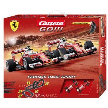 Carrera GO!!! Ferrari Race Spirit Set für 44,99€ (statt 55€)