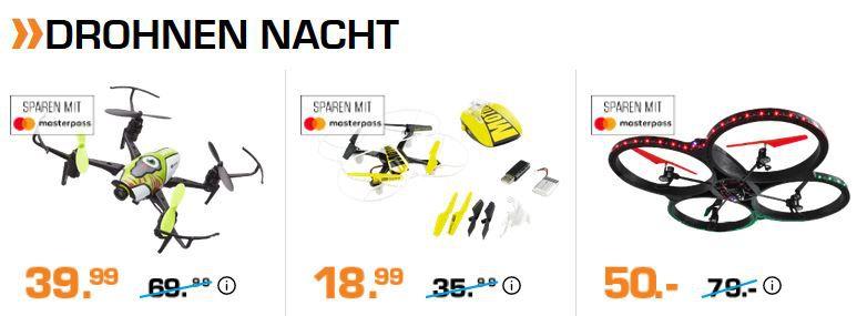 Saturn Drohnen, Navis und Foto late Night Shopping: z.B. TOMTOM GO Basic 6 Navi ab 114€ (statt 155€)