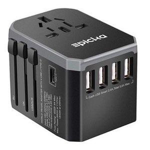 HUANUO Reiseadapter mit 4 USB Ports für 9,99€ (statt 17€)   Prime