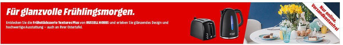 Russel Hobbs mini Aktion: günstige Küchengeräte z.B. RUSSELL HOBBS extures Plus Toaster für 24€ (statt 31€)