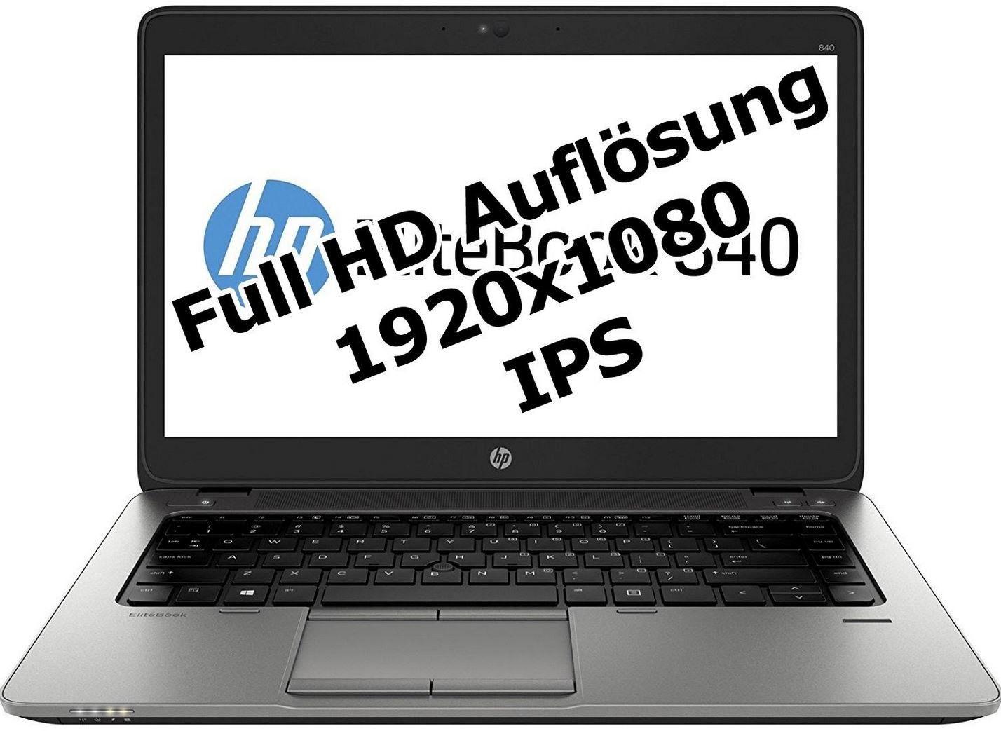 HP Elitebook 840   14 Zoll Full HD Notebook mit 256GB SSD [refurb.] für 219,60€ (statt 399€ neu)