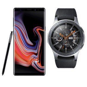 🔥 Galaxy Note 9 + Galaxy Watch 46mm für 79€ mit Vodafone Allnet Flat mit 2GB LTE  für 26,99€ mtl.