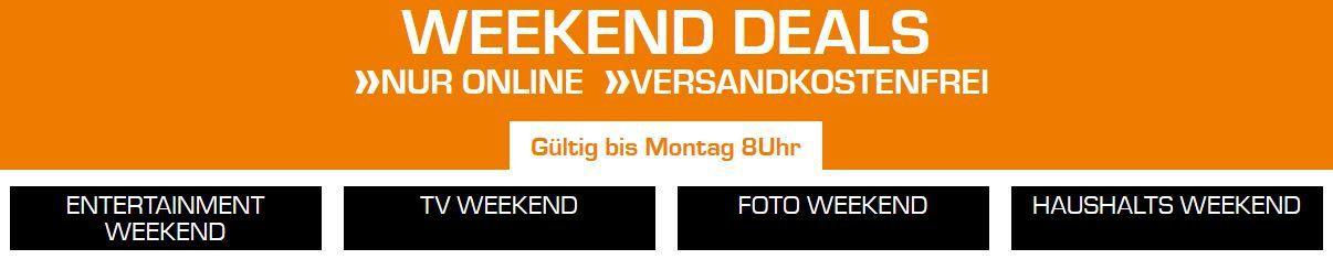 Saturn Weekend Sale: günstige TV, Foto und Haushaltsgeräte Angebote