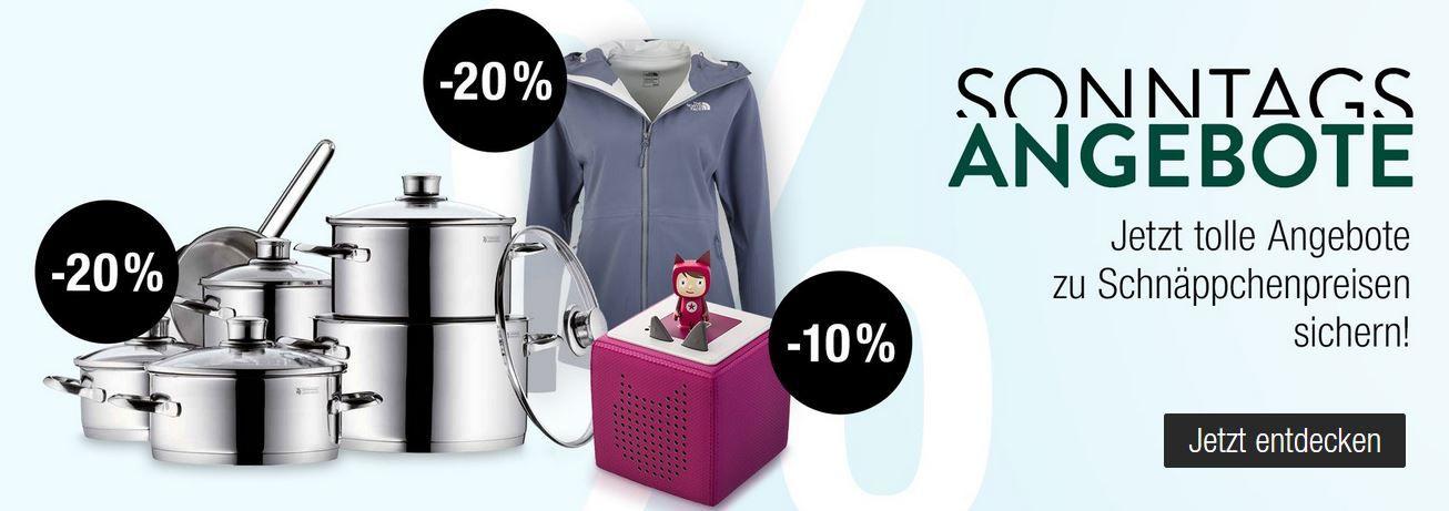 Galeria Kaufhof Sonntag: z.B. 15% Rabatt auf ausgewählte Spirituosen, 10% Rabatt auf Spielwaren uvam