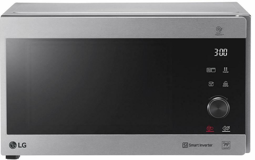 LG MH 6565 CPS   Mikrowelle mit Smart Inverter und Quarz Grill 25L 1000 Watt für 159€ (statt 189€)