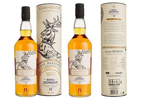 Royal Lochnagar Single Malt Game of Thrones Haus Baratheon für 39,99€ (statt 145€)